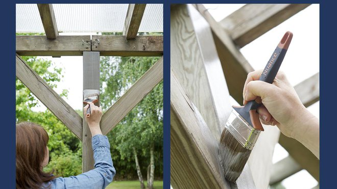 Repeindre ma pergola : comment faire ?